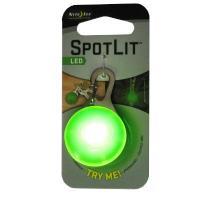 2012 NITE IZE SpotLit Lime Plastic - White LED