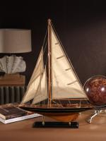 Zodax Wooden Model Sailboat - Small
