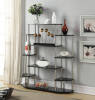 Convenience Concepts Wall Unit Bookshelf (Black)
