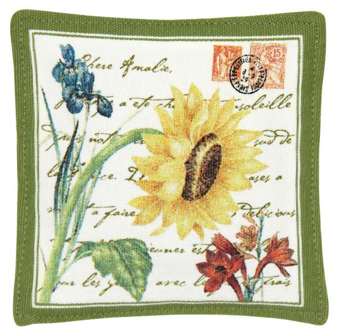 Alice's Cottage Flower Postcard Single Mug Mat