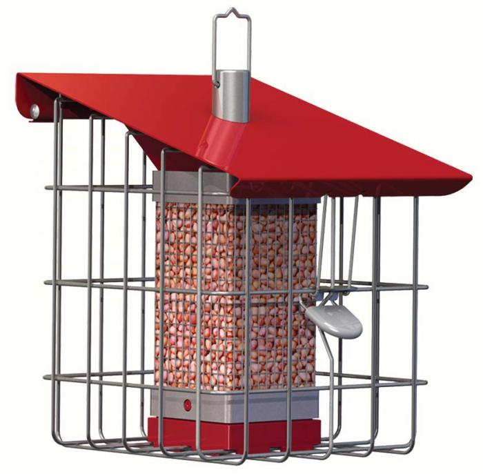 The Nuttery Geohouse Compact Peanut/Seed Feeder