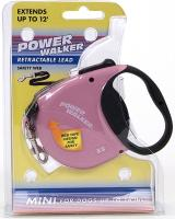 Coastal Pet Products 8702 Power Walker Retractable Lead, Pink - X-Small
