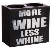 Evergreen Enterprises More Wine Double Wine Bottle Holder, Plock