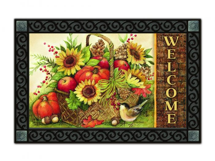 Magnet Works Fall Basket Mat Mate