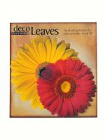 Pacific Merchants Daisies Deco Parchment Leaves