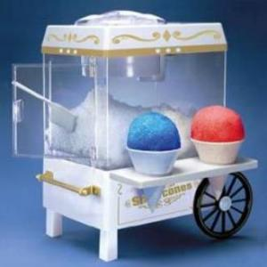 Nostalgia Electrics Old Fashioned Table Top Sno-Cone Cart