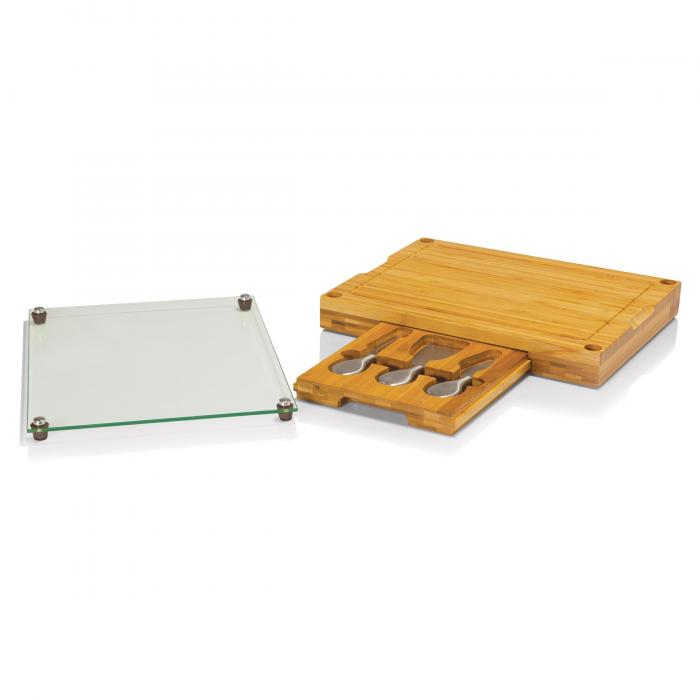Picnic Time Concerto Cheese Board w/ Serving Stage and Tools