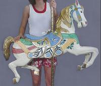 Broad Billed Jumper Citrus Carousel Horse