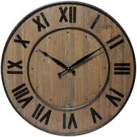 Infinity Wine Barrel Wall Clock