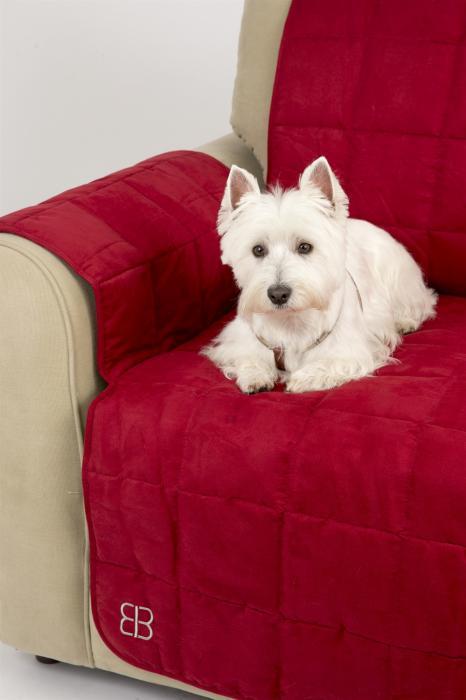 PetEgo Belsofá Velvet Chair Protector - Barn