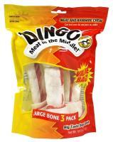 Dingo Large White Bone