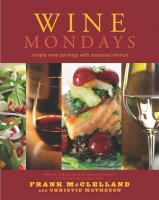 Peterson Books Wine Mondays