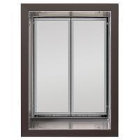 PlexiDor X-Large Exterior Wall Unit Performance Pet Door, Bronze