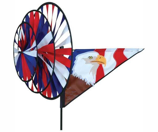 Premier designs eagle triple wind spinner for Garden spinners premier designs