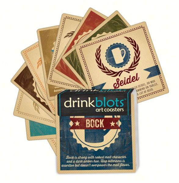 Magnet Works Craft Beers Coasters