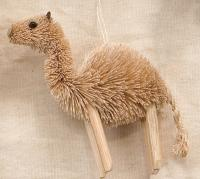 Brushart Camel Ornament