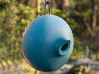 Byer of Maine Ellipse Blue Birdhouse
