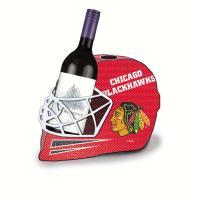 Evergreen Enterprises Chicago Blackhawks Cork and Wine Bottle Holder