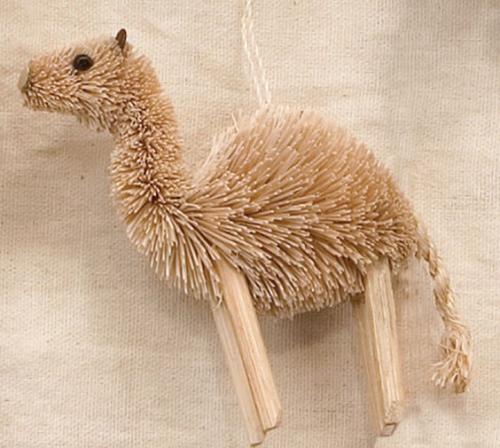 Brushart Camel Ornament