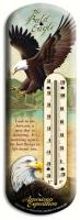 American Expeditions Eagle Tin Thermometer