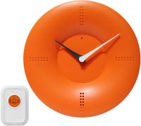 Infinity Doorbell Clock Orange Wall Clock