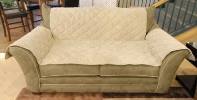 K&H Manufacturing Furniture Cover Loveseat Tan