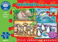 The Original Toy Company Animal Four in a Box