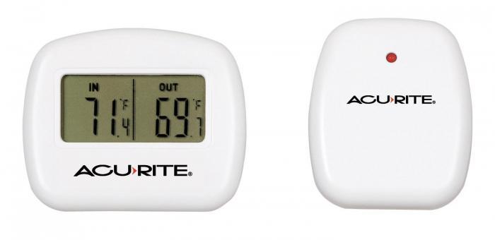 AcuRite Indoor/Outdoor Wireless Thermometer
