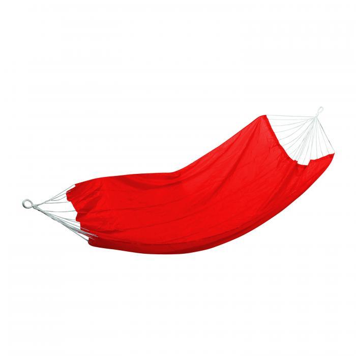 "Stansport Malibu Packable Nylon Hammock - 85"" X 59"" - Red"