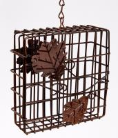 Heath Decorative Leaf Suet Bird Feeder