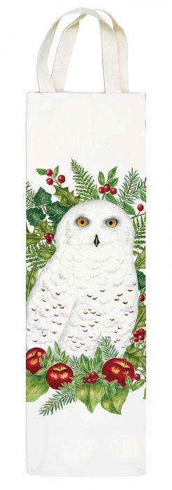 Alice's Cottage Snowy Owl Wine Caddy