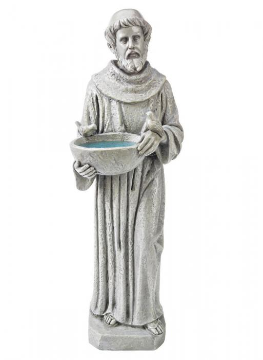 Design Toscano St. Francis Nature's Nurturer Statue Medium