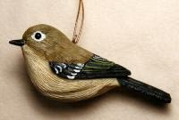 Songbird Essentials Ruby Crowned Kinglet Ornament