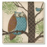 Counter Art Fantasy Owl Coasters Set of 4