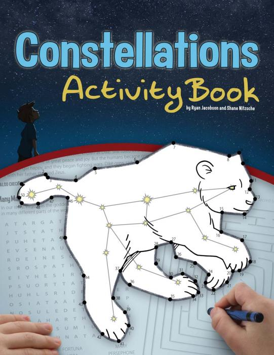 Adventure Publications Constellations Activity Book
