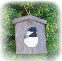 Songbird Essentials Chickadee House Ornament