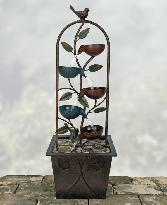 Coyne's Company Cascade Cups Metal Fountain
