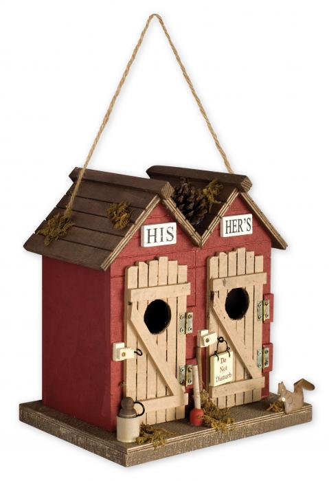 Sunset Vista Designs Outhouse Birdhouse