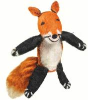 DZI Handmade Designs Fox Woolie Fingerpuppet Ornament