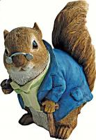Design Toscano Grandpa Squirrel Statue