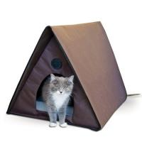 Outdoor Kitty A-Frame - Heated