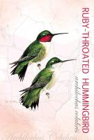 Tree Free Greetings Ruby-Throated Hummingbird Eco Notes
