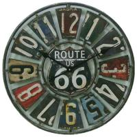 "Springfield 22 Route 66 License Plate Clock""""2"" Route 66 License Plate Clo"""""" Route 66 License Plate Cl"""" Route 66 License Plate Cl"""