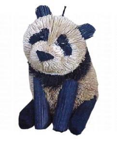 Brushart Panda Ornament