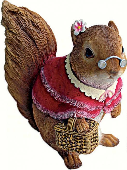 Design Toscano Grandma Squirrel Statue