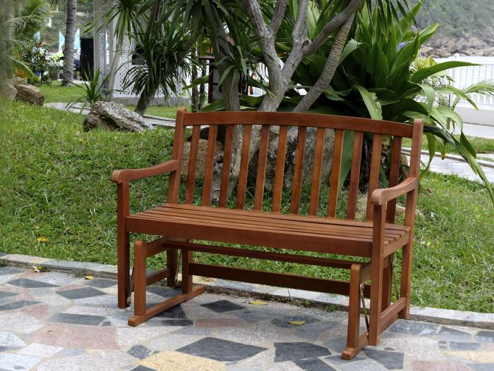 Merry Products Bench Glider