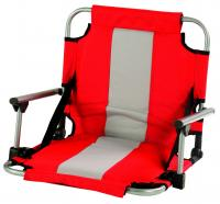 Stansport Stadium Seat With Arms - Red