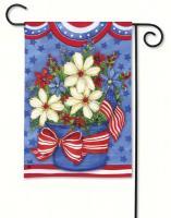 Magnet Works American Beauty Garden Flag