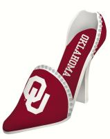 Evergreen Enterprises Oklahoma Sooners Shoe Wine Bottle Holder