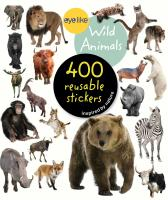 Workman Publishing Eyelike Wild Animals 400 Reusable Stickers